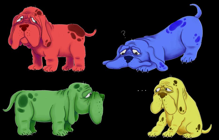 Droopy Doggies!