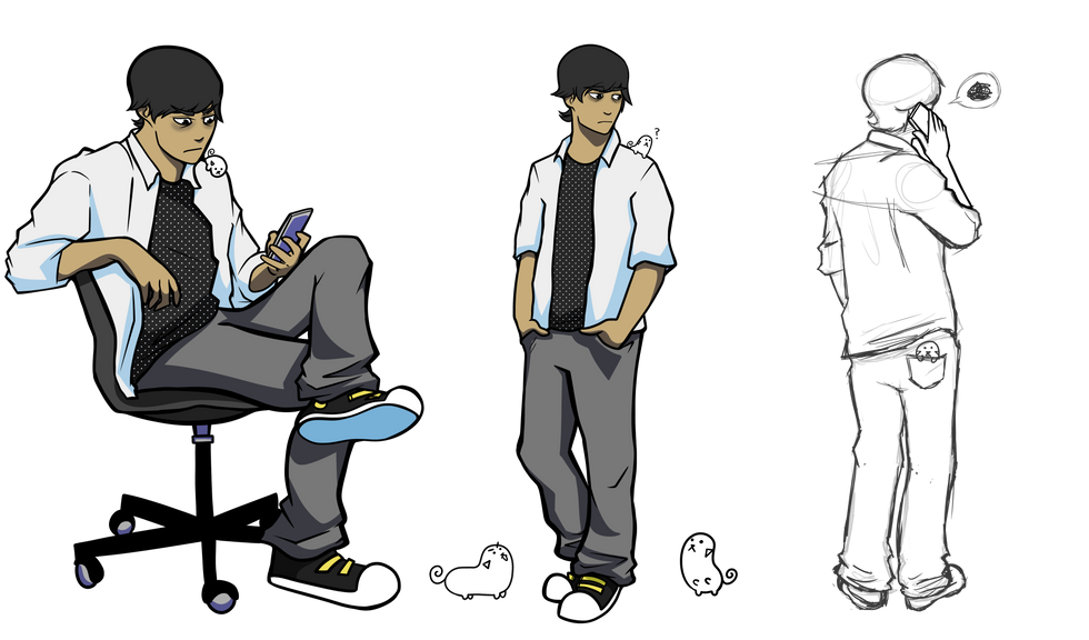 Daniel and Pipa Character Design