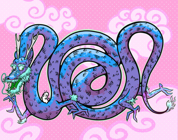 Pipa and the Dragon