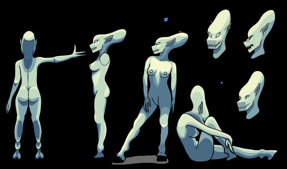 Banter the Alien Design