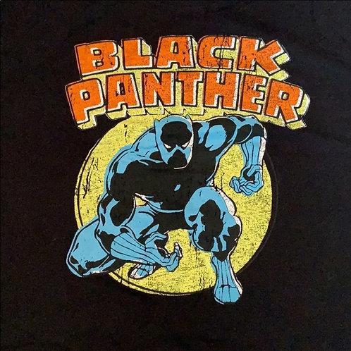 MARVEL Black Panther crop tee sz XL