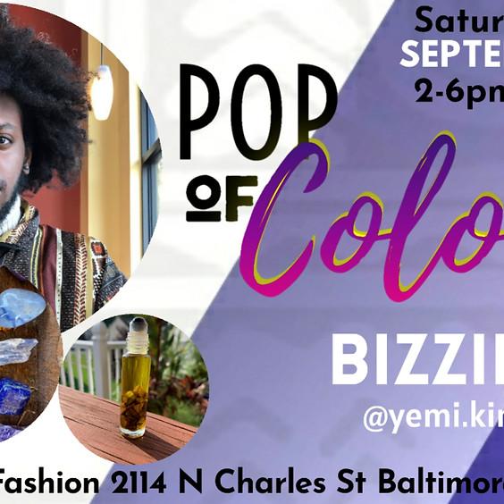 Pop of Color pop-up: Bizzie Media