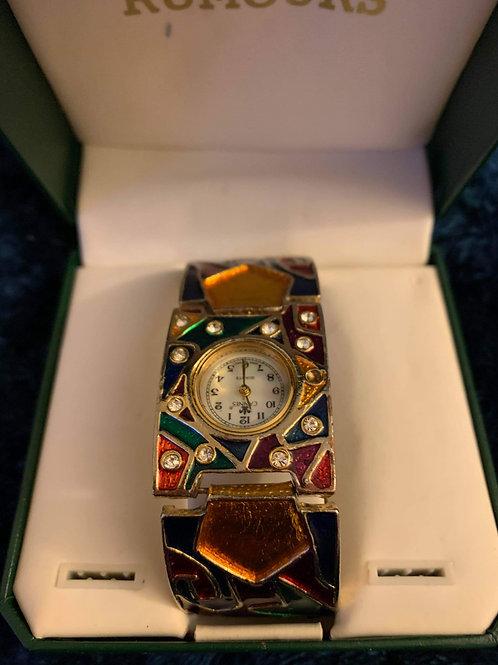 Vintage colorblock watch