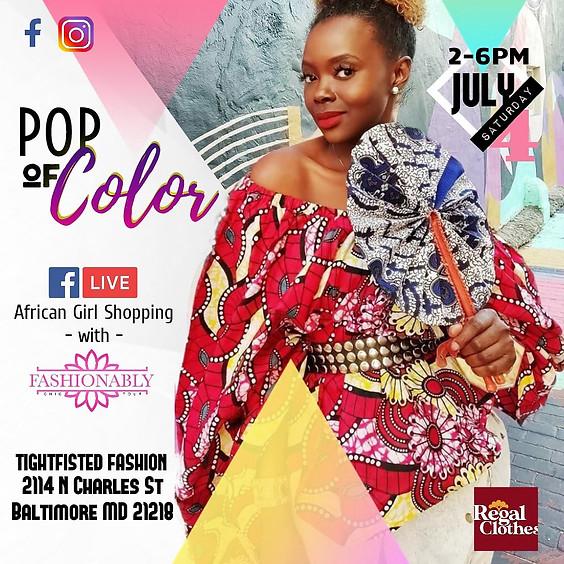 Pop of Color: Summer Pop-up Series