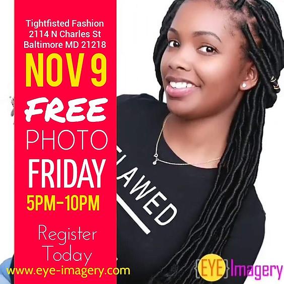 FREE Photo Friday with Eye Imagery