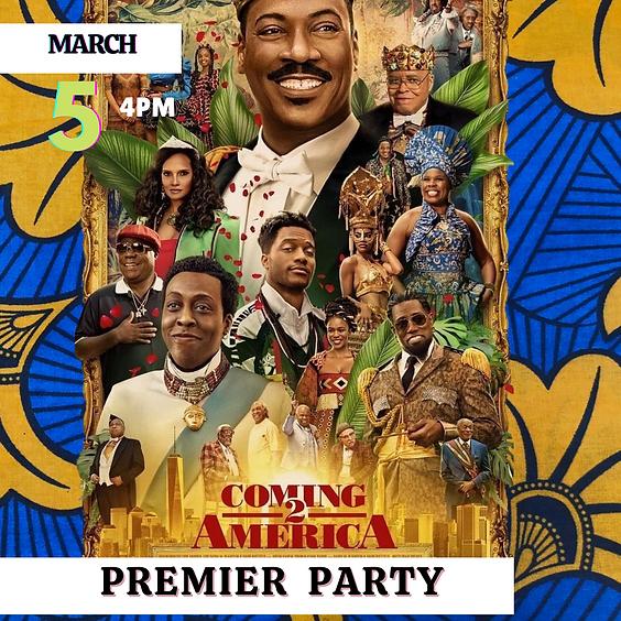 Coming 2 America Private Premier Party.
