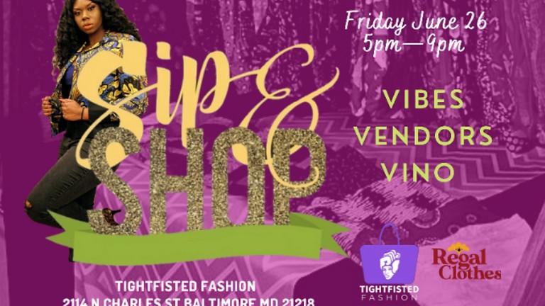 Sip + Shop Fashion Pop-up series