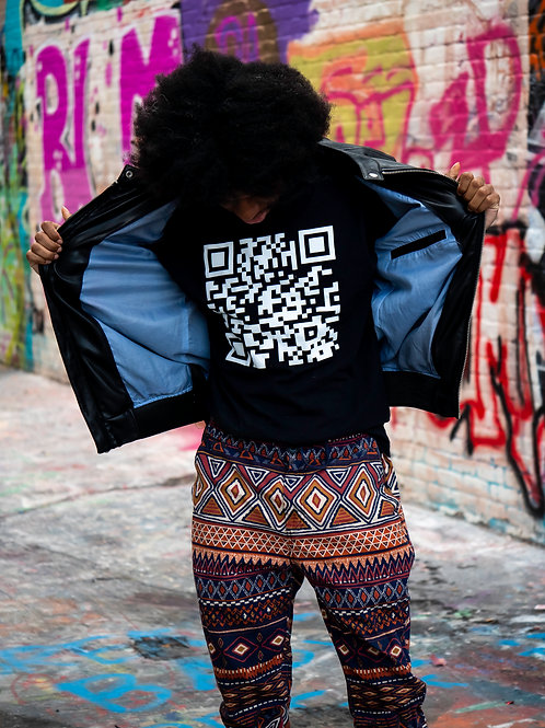 Tightfisted Fashion Barcode Tee - unisex