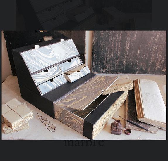 テーブルデスクライティングボックスノアール