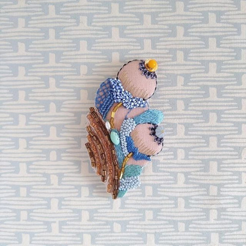 rika Ogasawara  Beads Embroidery Lesson