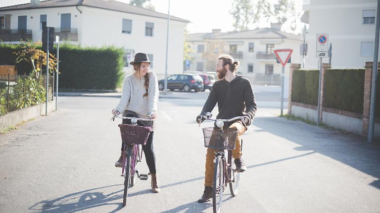 Biking Downtown