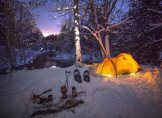 winter-camping-huron-manstee-national-fo
