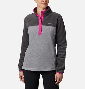 Columbia WOmens Benton Springs half snap