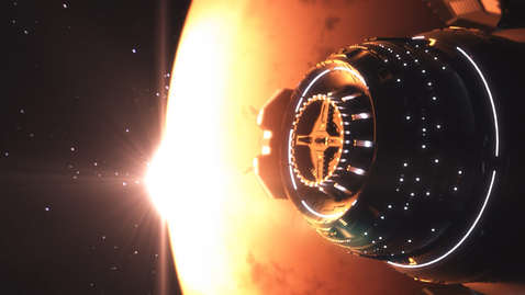SPACESHIP - CG MATTE PAINTING