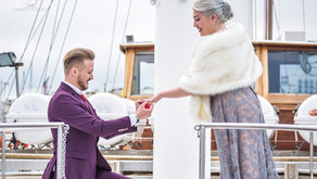 Marriage Proposal on Boat