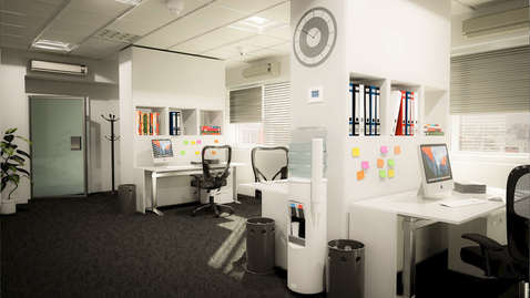 INTERIOR VIZ - OFFICE DESIGN