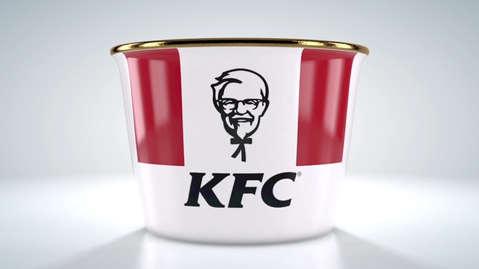 KFC ROYAL BUCKET - PACKSHOT