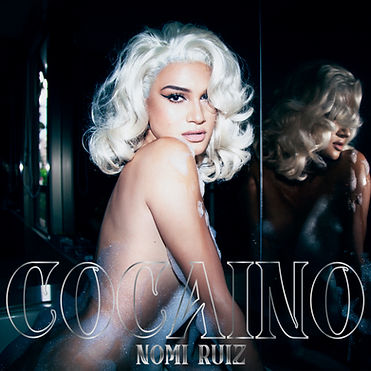 COCAINO Nomi Ruiz Bubbles Silver Hi Res.