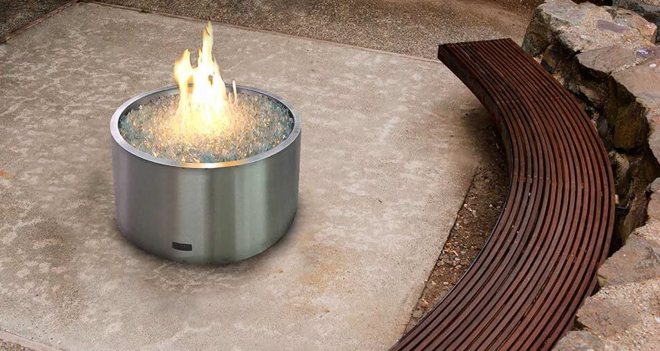 FBB Outdoor Gas Fireplace