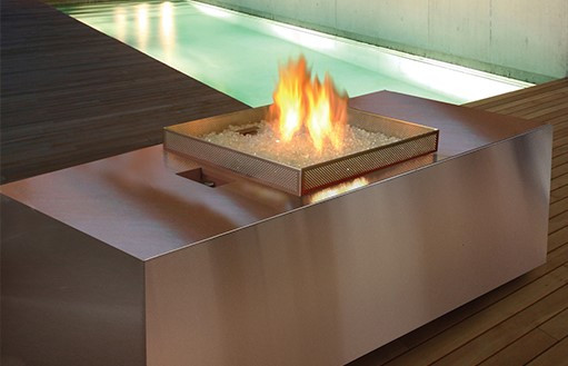 Fire Table Outdoor Gas Fireplace