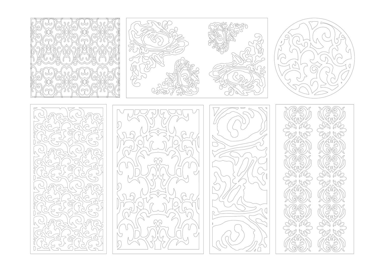 Jaali designs Blue book dvd2 _109-202-85