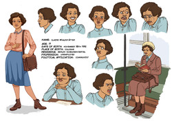 Character Sheet Claire W.