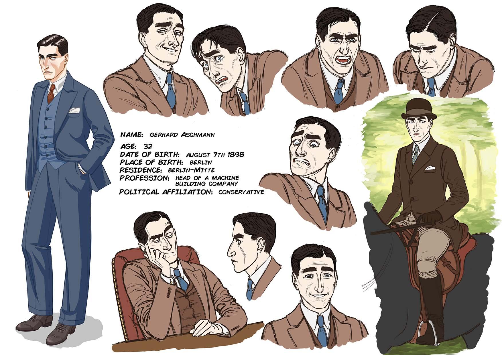 Character Sheet Gerhard A.