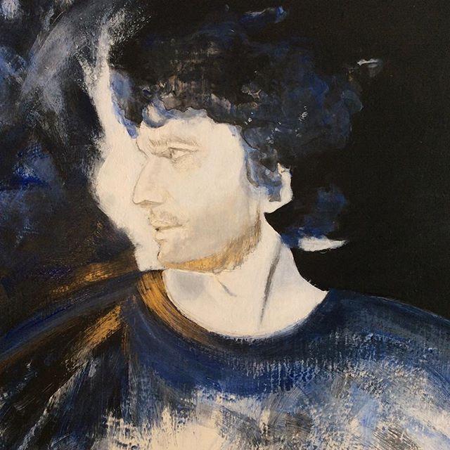#parsifal #jonaskaufmann #acrylics on board #art#wagner #opera