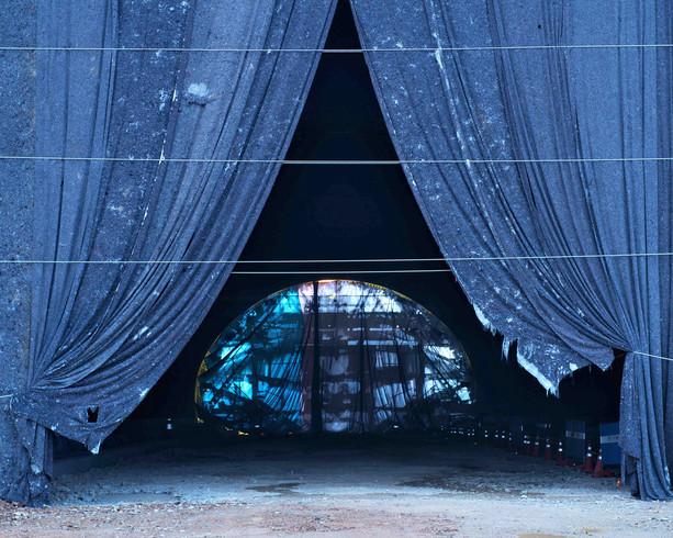 Tunnel-2, C-print, 152x190cm, 2015