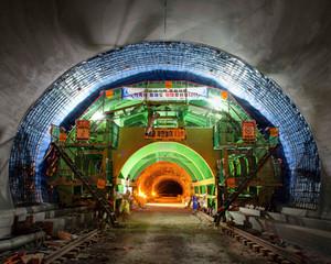 Tunnel-16, C-print, 152x190cm, 2015