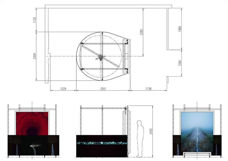 불연속 세트-1, 5.6x4.9x2.5m , 2020