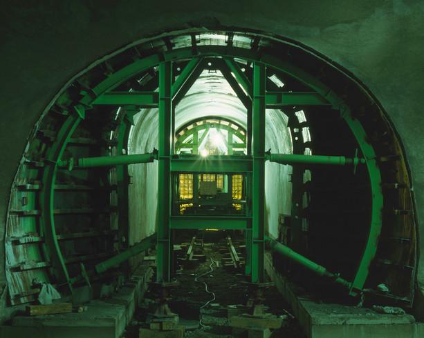 Tunnel-15, C-print, 152x190cm, 2013