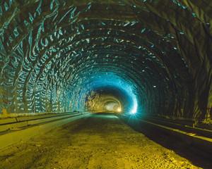 Tunnel-12, C-print, 152x190cm, 2016