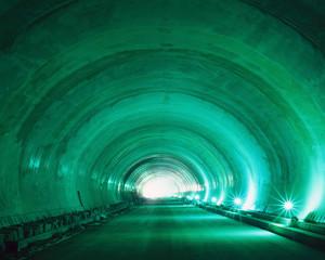 Tunnel-8, C-print, 152x190cm, 2013