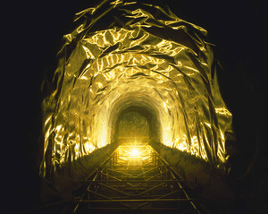 Tunnel-5, C-print, 152x190cm, 2013