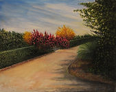 Garden Path 20X16 Oil on Canvas