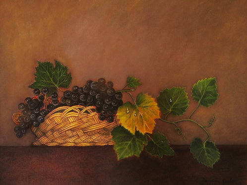 """CHANGING LEAF 16""""X 20"""" Oil on Canvas"""