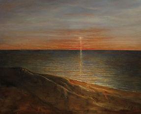 Heavenly Light 20 x 16 Oil on Board
