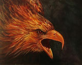 Golden Eagle   16X20 Oil on Canvas