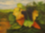 Edge Of The Vineyard 20X16  Oil on Canvas