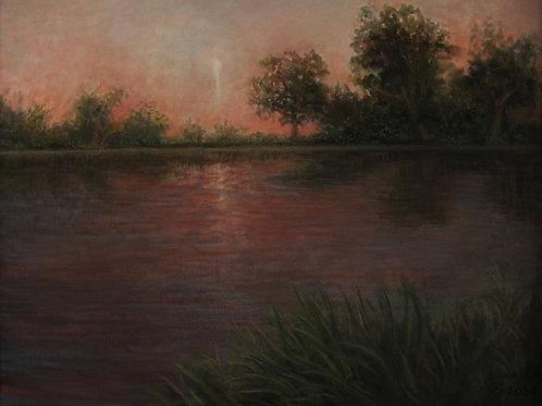 """NO CALIFORNIA #6   16""""X20"""" Oil on Canvas"""