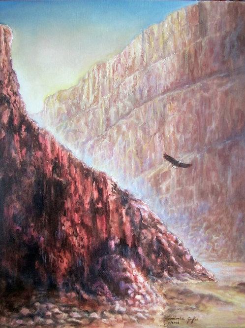 EAGLE CANYON 16X20 Canvas Wrap Giclee