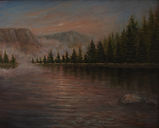Northern Calif Landscape #7 20 x 16 Oil on Canvas