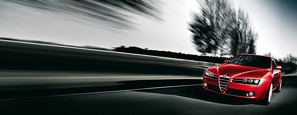 Alfa Romeo 159 front