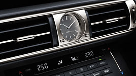Lexus IS clock