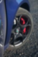 alfa 5 hole wheel