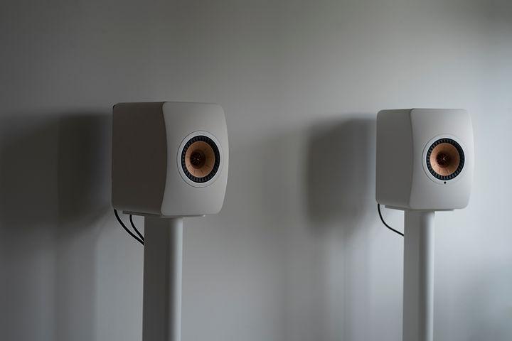 kef ls50 wireless ii stands