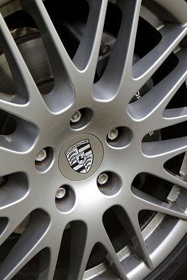 Porsche spyder rim