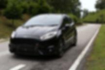 Fiesta ST front