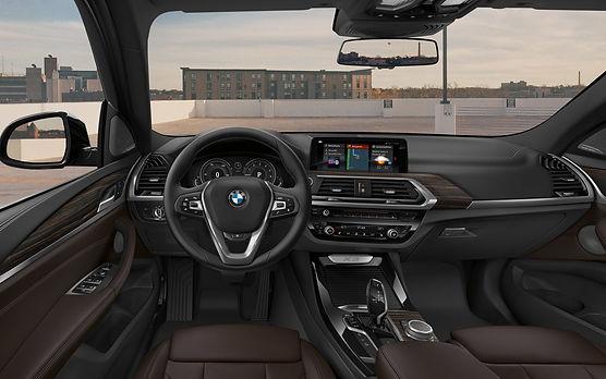 bmw x3 interior 2018